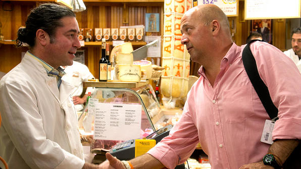 Guy and Andrew zimmern