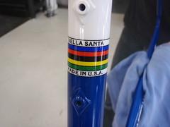 Della Santa - Rainbow Stripes