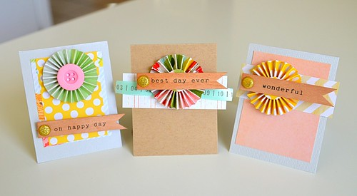 mini cards  - dear lizzy neopolitan by CloudsShadler
