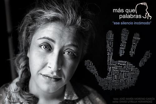 más que palabras = ESE SILENCIO INCÓMODO by José-María Moreno García = FOTÓGRAFO HUMANISTA