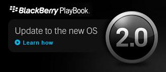 BlackBerry PlayBook OS 2.0 Update Process