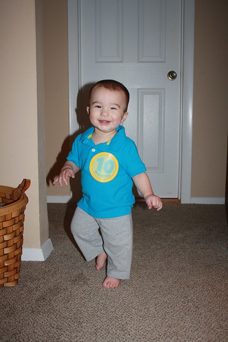 James at 10 Months 2012