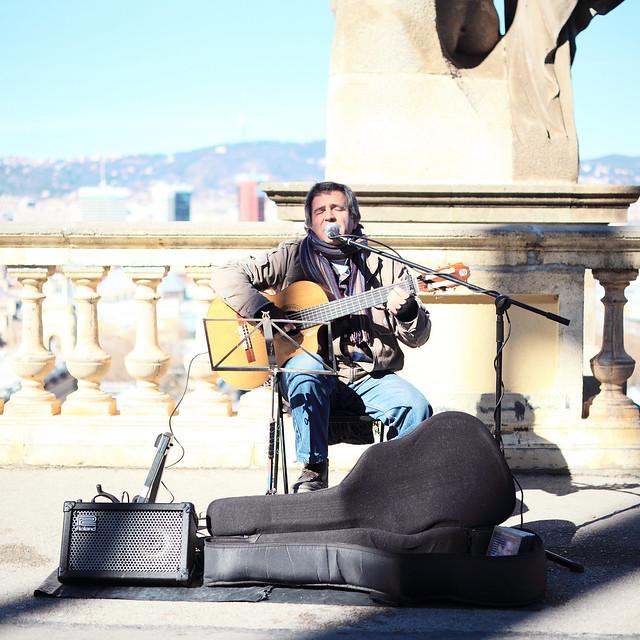 Spanish guitarist.