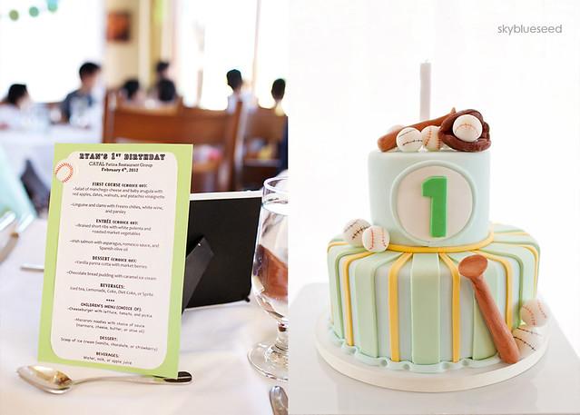 Cake and Menu