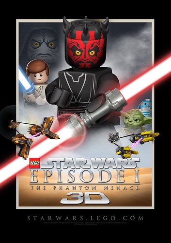 LEGO Episode I in 3-D!