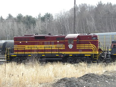 # 77 GP-9  in Heritage Paint--Boston & Maine-- More hreitage painted engines coming