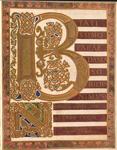 019-Dedicatoria al Papa-Evangeliar  Codex Aureus - BSB Clm 14000-© Bayerische Staatsbibliothek