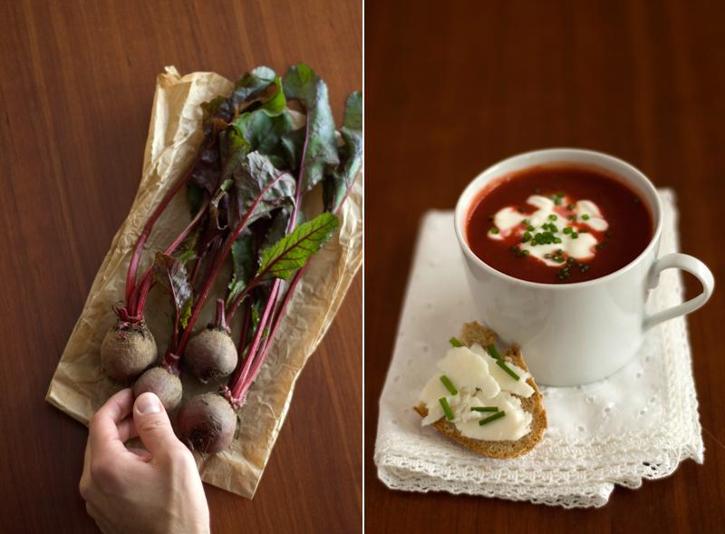 Sopa de cenoura e beterraba // Carrot Beetroot Soup