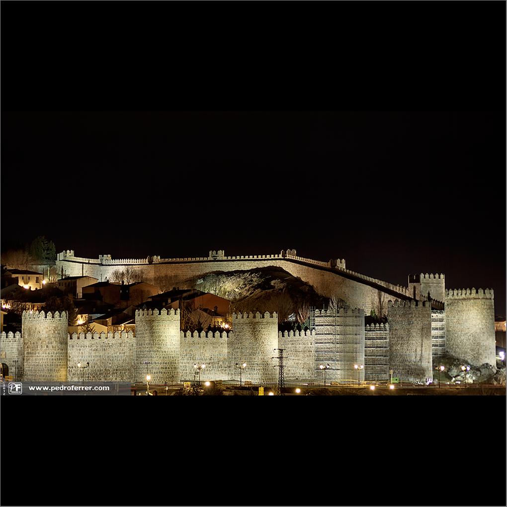 Ávila, ciudad amurallada