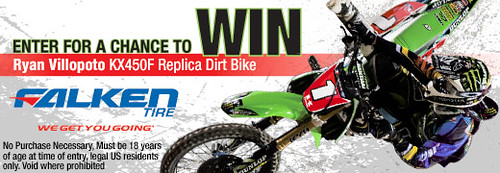 Win A Kawasaki Kx 450f Dirt Bike Contestqueen
