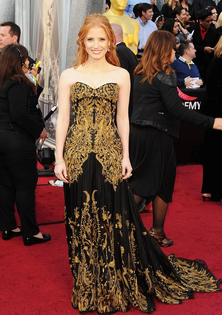 jessica-chastain-oscars-2012