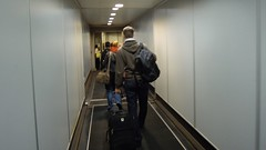 Boarding flight to Chiang Mai, Suvarnabhumi Airport, Bangkok