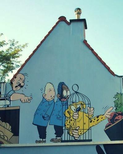 Paredes de cómic, Bruselas Especial Arte Urbano en Flandes - 6935180495 a0641d4175 - Especial Arte Urbano en Flandes
