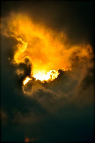 sunset sky clouds singapore parkconnector