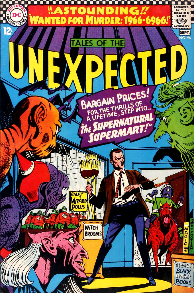Tales of the Unexpected #96 (DC, 1966) Bernard Baily cover