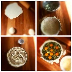 Filling. Torta Pasqualina.