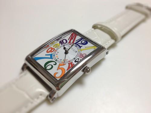 フランク三浦の腕時計
