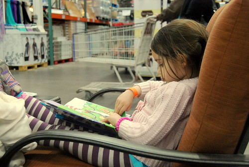 Costco reading time