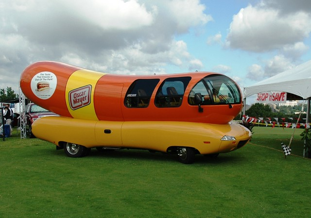 St Patricks Day In The Emerald City further History Bacon Advertising additionally pany Cars furthermore Oscar Mayer Wienermoblie Pedal Car besides 6954733367. on oscar mayer wienermobile vintage