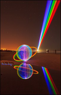 Saturn orb & the global rainbow