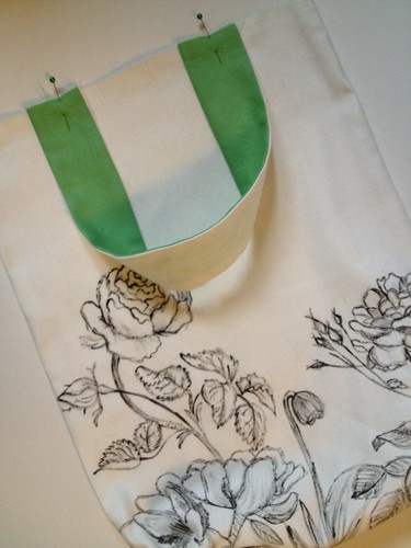 12a - Botanic Sketch Tote Bag Tutorial