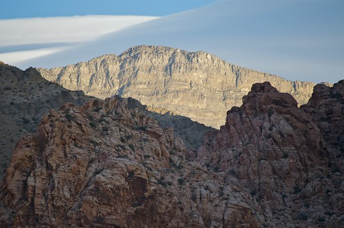redrockcanyon road mountain sunrise raw nv