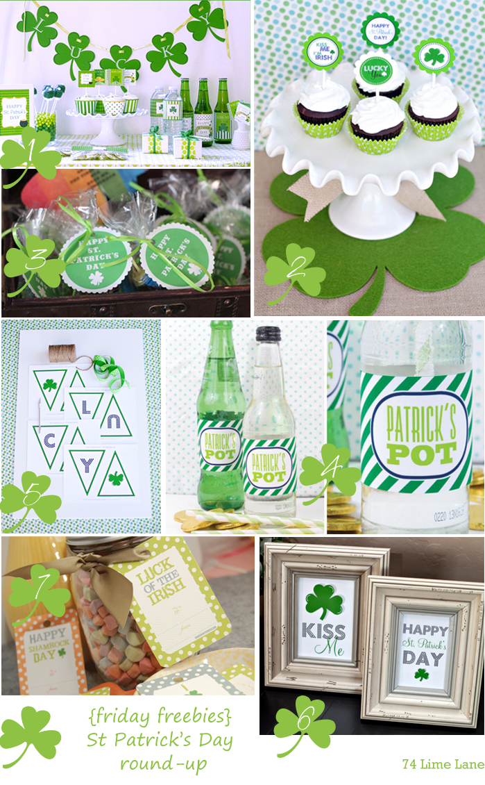{friday freebies} st patrick's day round-up
