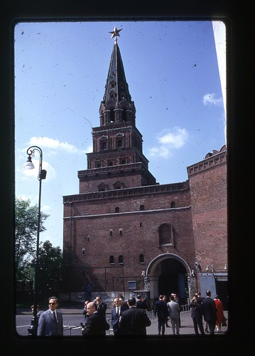 Borovitskaya Tower, Moscow, 1969