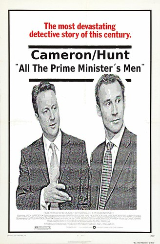 All The Prime Minister's Men - Film Poster by Teacher Dude's BBQ