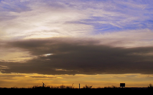 sunset sky newmexico clouds magicalskies goldeslumber