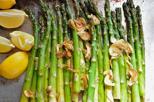 asparagus roasted/feature