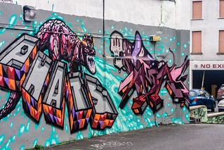 Street Art & Graffiti (Francis Street area Of Dublin)