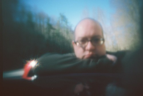 pinhole self portrait