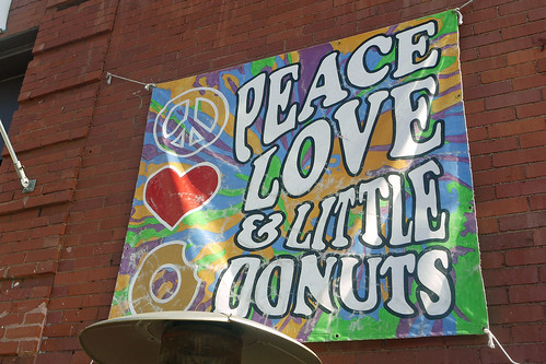 Peace Love & Donuts