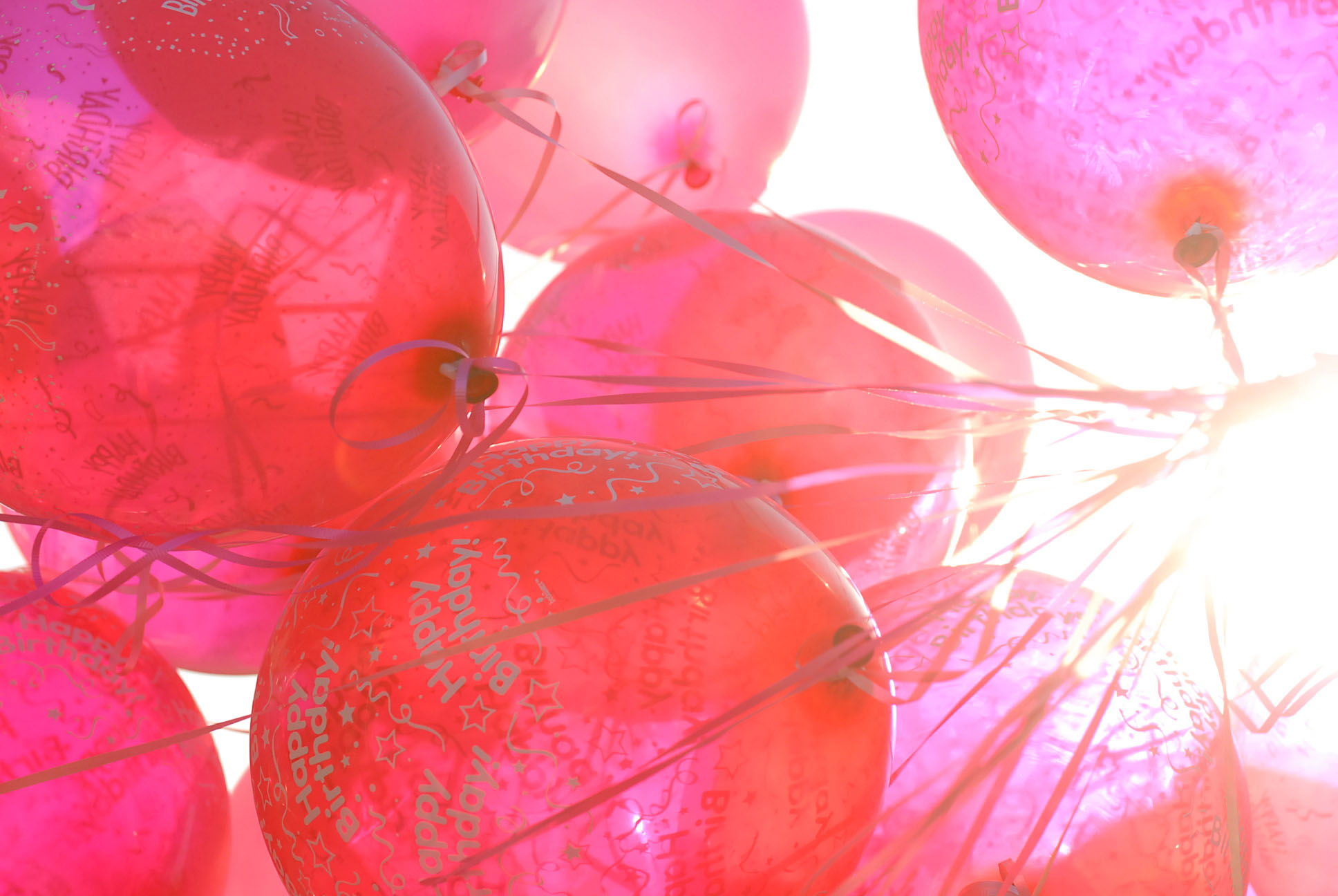 pink balloons | Flickr - Photo Sharing!