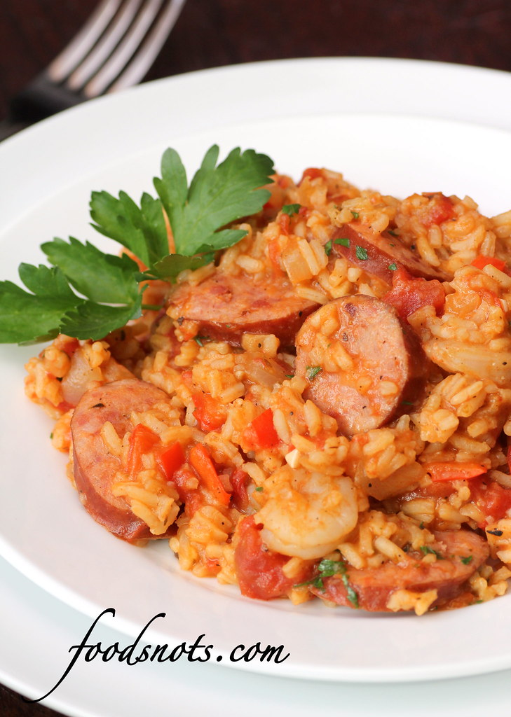 Recipe snobs jambalaya with shrimp and andouille sausage ive been dying to try a jambalaya recipe because its all over food network and everyone is always saying how amazing it is forumfinder Gallery