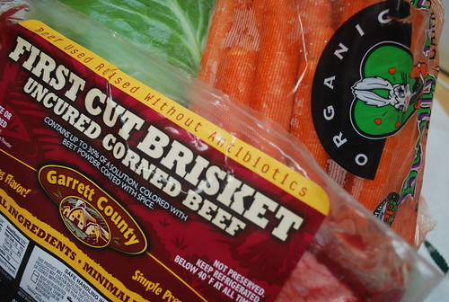 Preservative free corned beef for St. Patty's day