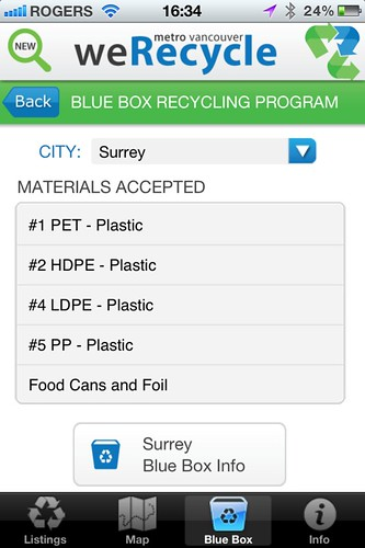weRecycle App