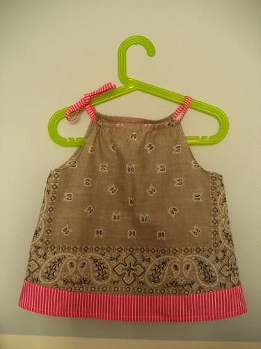 bandanna tunic