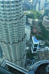 View from top of Petronas Twin Towers