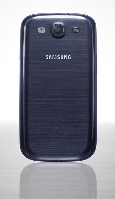 Samsung Galaxy S3 - Pebble Blue (Back)