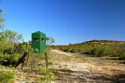 Deer Blind with Good Access to Ranch