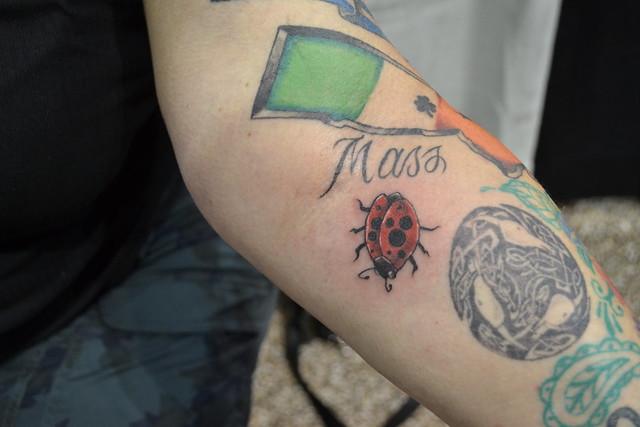 tattoofest ladybug tattoo