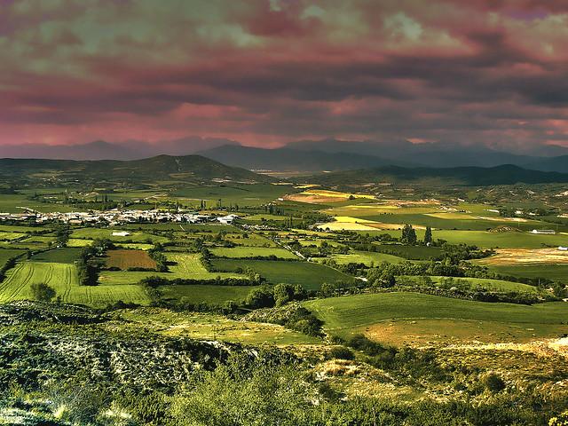 en algun lugar de Huesca-hdr