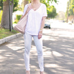 hudson feathered owl  jeans and burnout t