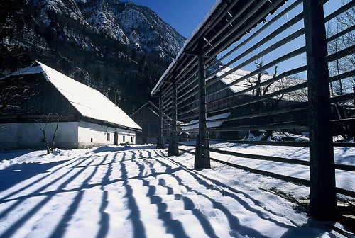 Pocarjeva Domacija, Mojstrana, Triglav National Park SLOVENIA