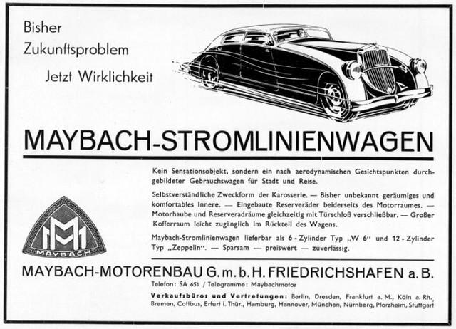 Maybach Stromlinienwagen