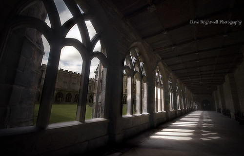 Cloisters by Dave Brightwell