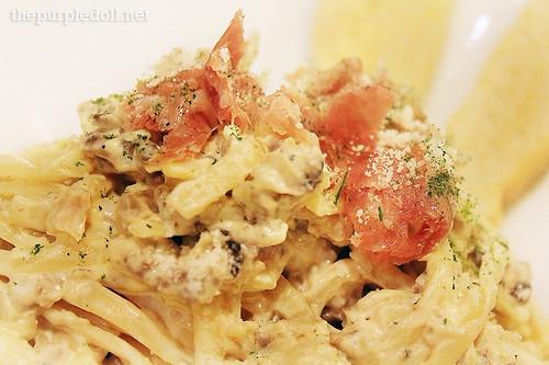 Wild Mushroom Pasta P250