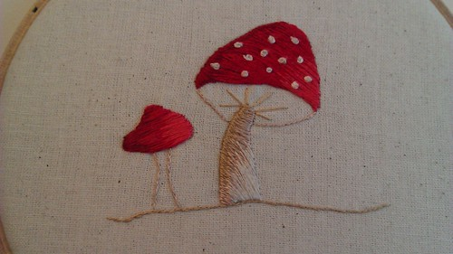 Silk Shaded Mushroom (26)